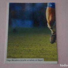 Cromos de Fútbol: CROMO DE FUTBOL IL PIU GRANDE MARADONA SIN PEGAR Nº 106 AÑO 2005 DE PREZIOSI COLLECTION. Lote 269288873