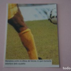 Cromos de Fútbol: CROMO DE FUTBOL IL PIU GRANDE MARADONA SIN PEGAR Nº 115 AÑO 2005 DE PREZIOSI COLLECTION. Lote 269289133