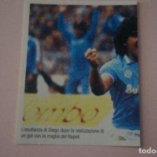 Cromos de Fútbol: CROMO DE FUTBOL IL PIU GRANDE MARADONA SIN PEGAR Nº 120 AÑO 2005 DE PREZIOSI COLLECTION. Lote 269289313