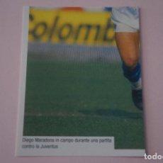 Cromos de Fútbol: CROMO DE FUTBOL IL PIU GRANDE MARADONA SIN PEGAR Nº 131 AÑO 2005 DE PREZIOSI COLLECTION. Lote 269289488
