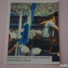 Cromos de Fútbol: CROMO DE FUTBOL IL PIU GRANDE MARADONA SIN PEGAR Nº 153 AÑO 2005 DE PREZIOSI COLLECTION. Lote 269289598