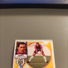 Cromos de Futebol: MANOLO BAJA LIGA ESTE 94/95 1994/95 TENERIFE VENTANILLA MÍNIMA SUPERIOR. Lote 269324083