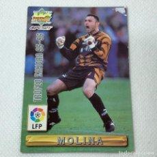 Cromos de Fútbol: CROMO - MOLINA ZAMORA NRO. 423 EL MEJOR 95-96 LA LIGA 96 97 - MUNDICROMO - CARTA. Lote 269383903