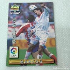 Cromos de Fútbol: CROMO - MARCOS SEVILLA NRO. 413 EL MEJOR 95-96 LA LIGA 96 97 - MUNDICROMO - CARTA. Lote 269384218