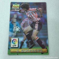 Cromos de Fútbol: CROMO - J. GUERRERO BILBAO NRO. 412 EL MEJOR 95-96 LA LIGA 96 97 - MUNDICROMO - CARTA. Lote 269384443