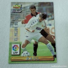 Cromos de Fútbol: CROMO - RAUL REAL MADRID NRO. 405 EL MEJOR 95-96 LA LIGA 96 97 - MUNDICROMO - CARTA. Lote 269385038