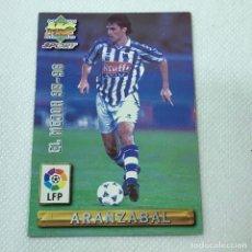 Cromos de Fútbol: CROMO - ARANZABAL REAL SOCIEDAD NRO. 406 EL MEJOR 95-96 LA LIGA 96 97 - MUNDICROMO - CARTA. Lote 269385278