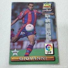 Cromos de Fútbol: CROMO - NRO. 432 GIOVANNI + JOKANOVIC SUPERSTARS 96-97- MUNDICROMO - CARTA. Lote 269386693