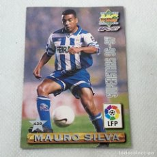 Cromos de Fútbol: CROMO - NRO. 439 MAURO SILVA + SONGO'O SUPERSTARS 96-97- MUNDICROMO - CARTA. Lote 269388198