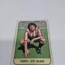 Cromos de Fútbol: EDICIONES ESTE 78/79 TIRAPU - ATHLETIC CLUB. RECUPERADO.. Lote 269390593