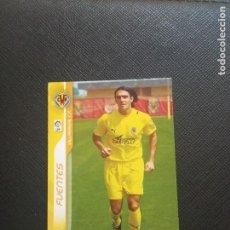 Cromos de Fútbol: FUENTES VILLARREAL MEGACRACKS 2006 2007 CROMO FUTBOL LIGA 06 07 - A12 PG46 - 493. Lote 269391923
