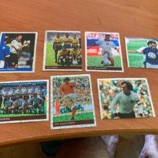Cromos de Fútbol: LOTE 7 CROMOS DIFERENTES WORLD CUP FRANCE 98 DS NUNCA PEGADOS. JOHANN CRUYFF ARGENTINA (CRIP5). Lote 269416958