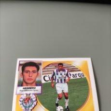 Cromos de Futebol: HERRERO FICHAJE 4 BIS LIGA ESTE 94/95 1994/95 VALLADOLID NUEVO. Lote 269446078