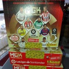 Cartes à collectionner de Football: PANINI MGK MEGACRACKS 4 CAJAS X 24 SOBRES CADAUNA LIGA SANTADER 2020-21 NUEVOS SIN ABRIR. Lote 269488288