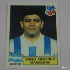 Cromos de Fútbol: CROMO DE FUTBOL MARADONA DE ARGENTINA SIN PEGAR MUNDIAL USA 94 Nº 257 DE PANINI. Lote 269498048
