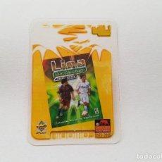 Cromos de Fútbol: CROMO COMODÍN CRYSTAL CARDS 2006/2007 CRYSTALCARDS MUNDICROMO (CON MESSI Y SERGIO RAMOS). Lote 269645183