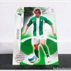Cartes à collectionner de Football: MEGACRACKS 2006 2007 06 07 PANINI SOBIS Nº 502 FICHAJE (BETIS) CARD LIGA ALBUM MEGA CRACKS MGK. Lote 269678133