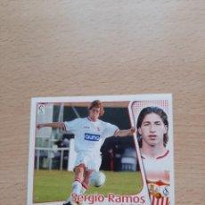 Cromos de Fútbol: SERGIO RAMOS - 2004-2005 ROOKIE NUEVO LIGA ESTE. Lote 269692358