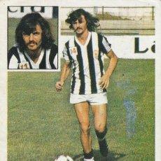 Cromos de Fútbol: OSCAR FERRERO FICHAJE 17 DEL CASTELLON. ED.ESTE 1981 1982 .DESPEGADO.. Lote 269698838