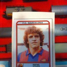 Cromos de Fútbol: ÁLBUM FÚTBOL 82. PANINI. 1981-82. 2 CROMOS USADOS. BARCELONA: ZUVIRIA. ATL. MADRID: RUBIO. Lote 269716613