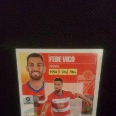 Cromos de Fútbol: PANINI LIGA ESTE 20/21 - GRANADA CF Nº 14 FEDE VICO. Lote 269717983