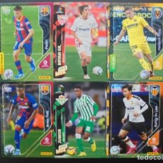 Cromos de Fútbol: LOTE ROOKIE MEGACRACKS PEDRI 430, BRYAN GIL 303, YEREMI PINO, FIRPO, KANG IN LEE Y FATI 2019-2020. Lote 269731828