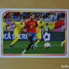 Cromos de Fútbol: CARREFOUR 2021 - EL ALBUM DE LA SELECCION ESPAÑOLA EURO 2020 - Nº 10 - SERGIO RAMOS. Lote 269802118