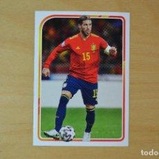 Cromos de Fútbol: CARREFOUR 2021 - EL ALBUM DE LA SELECCION ESPAÑOLA EURO 2020 - Nº 29 - SERGIO RAMOS. Lote 269803438