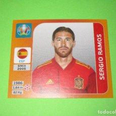 Cromos de Fútbol: SERGIO RAMOS - 521 - ESPAÑA - UEFA EURO 2020 ( TOURNAMENT EDITION ) - PANINI. Lote 269812653