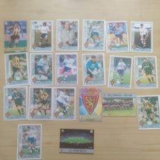 Cromos de Fútbol: CROMOS FUTBOL ZARAGOZA MUNDICROMO 1996-97. Lote 269815513