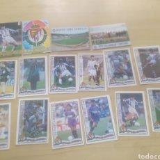 Cromos de Fútbol: CROMOS FUTBOL VALLADOLID MUNDICROMO 1996-97. Lote 269817738
