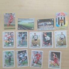 Cromos de Fútbol: CROMOS FUTBOL MÉRIDA MUNDICROMO 1996-97. Lote 269822453