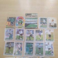 Cromos de Fútbol: CROMOS FUTBOL RACING DE SANTANDER MUNDICROMO 1996-97. Lote 269828743