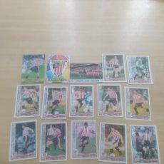 Cromos de Fútbol: CROMOS FUTBOL ATLÉTICO DE BILBAO MUNDICROMO 1996-97. Lote 269831568