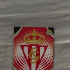 Cromos de Fútbol: N235 ESCUDO REAL SPORTING MEGACRACKS 2009 2010 PANINI 09 10. Lote 269839628