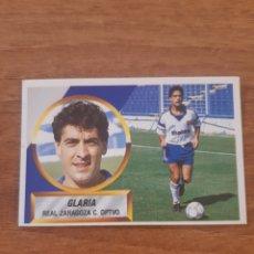 Cromos de Fútbol: N°16 GLARIA (ZARAGOZA) LIGA 88-89 ESTE. NUNCA PEGADO. Lote 269948493