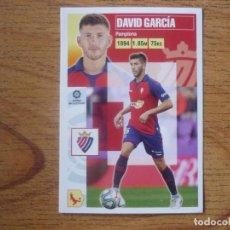Cromos de Fútbol: ESTE 2020 2021 PANINI 7 DAVID GARCIA (OSASUNA) - SIN PEGAR - CROMO FUTBOL LIGA 20 21. Lote 269949588