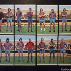 Cromos de Fútbol: 8 CROMOS FC BARCELONA. EQUIPO COMPLETO. CRUYFF. RUIZ ROMERO 1975-1976 75-76 SIN PEGAR. VER FOTOS.. Lote 269950233