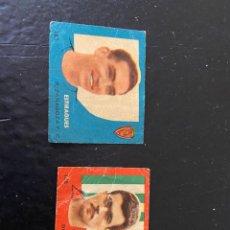 Cromos de Fútbol: CAMPEONES 1958 1959 ESTIRAGUES ZARAGOZA 163 Y CASTAÑOS BETIS 188 SE VENDNE SUELTOS. Lote 269950263