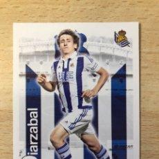 Cromos de Fútbol: # 1120 OIARZABAL ROOKIE CARD REAL SOCIEDAD 2015-16 MUNDICROMO NUEVO DE SOBRE. PERFECTO.. Lote 269951348