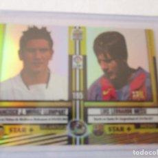 Cromos de Fútbol: (ROOKIE) MESSI Nº 195 (BRILLO). TOP 2005. LIGA 2004/05, REF. 4ª (CROMO CORRECTISIMO). Lote 269985348