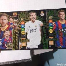 Cromos de Fútbol: MESSI-MODRIC-DE JONG. Lote 269985573