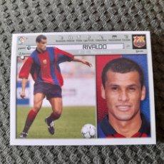 Cromos de Fútbol: EDICIONES ESTE 2001 2002 RIVALDO FC BARCELONA NUEVO DE SOBRE SIN PEGAR. Lote 270092708