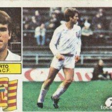 Cromos de Fútbol: ROBERTO DEL VALENCIA. 1982 1983 ED.ESTE.SIN PEGAR. Lote 270237463