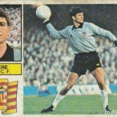 Cromos de Fútbol: SEMPERE PORTERO DEL VALENCIA. 1982 1983 ED.ESTE.SIN PEGAR. Lote 270240503