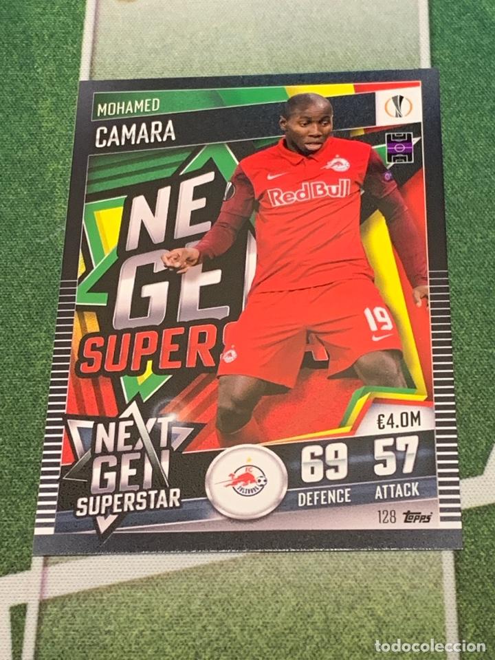 Nº 128 CAMARA FC SALZBURG NEXT GEN SUPERSTAR MATCH ATTAX 101 TOPPS 2020 2021 20/21 CARD (Coleccionismo Deportivo - Álbumes y Cromos de Deportes - Cromos de Fútbol)