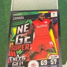 Cromos de Fútbol: Nº 128 CAMARA FC SALZBURG NEXT GEN SUPERSTAR MATCH ATTAX 101 TOPPS 2020 2021 20/21 CARD. Lote 270404248