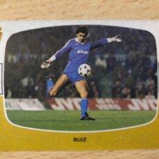 Cromos de Fútbol: RUIZ REAL ZARAGOZA CROMOS CANO 84-85 SIN PEGAR MUY BUEN ESTADO. Lote 270636513