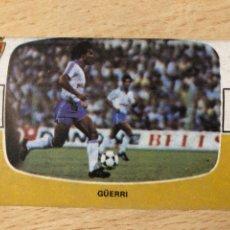 Cromos de Fútbol: GÜERRI REAL ZARAGOZA CROMOS CANO 84-85 SIN PEGAR MUY BUEN ESTADO. Lote 270637018