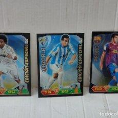 Cromos de Fútbol: CROMOS ADRENALYN 2011/12 EDICIÓN ESPECIAL MARCELO,CAZORLA Y PEDRO. Lote 270646288